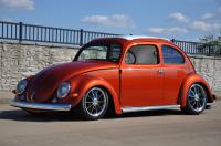 1956 VW Beetle Oval window