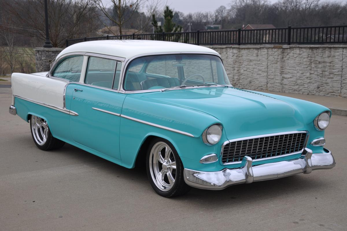 1955 chevy bel air sold