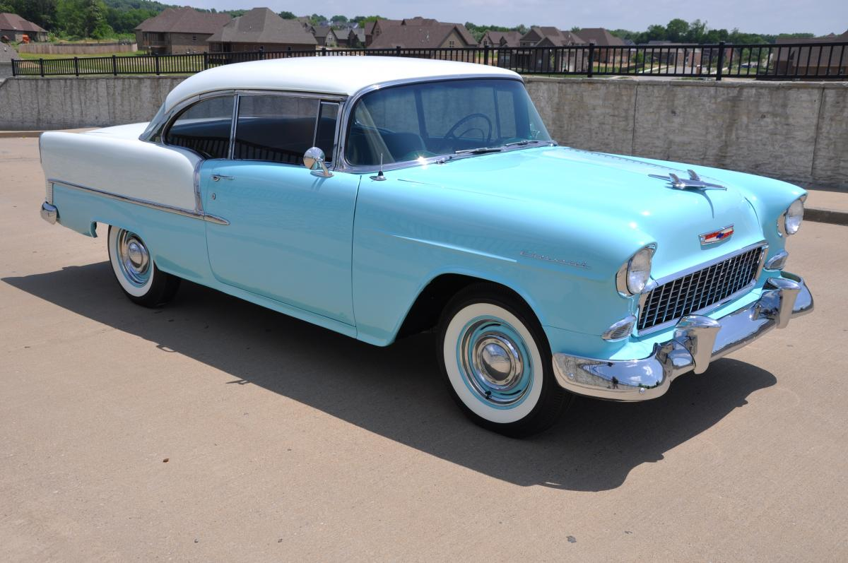 1955 Chevrolet 210 Sport Coupe Sold Chevy Bel Air