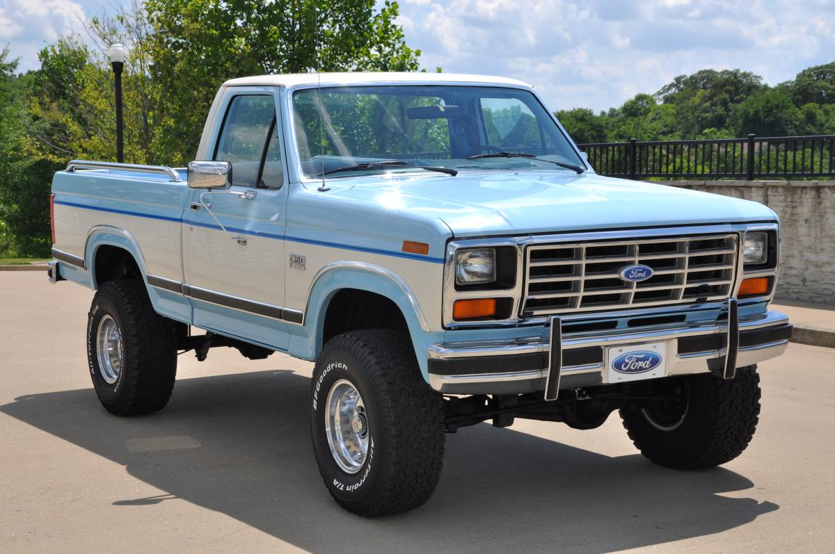 1986 ford f 150 lariat xlt 4x4 sold
